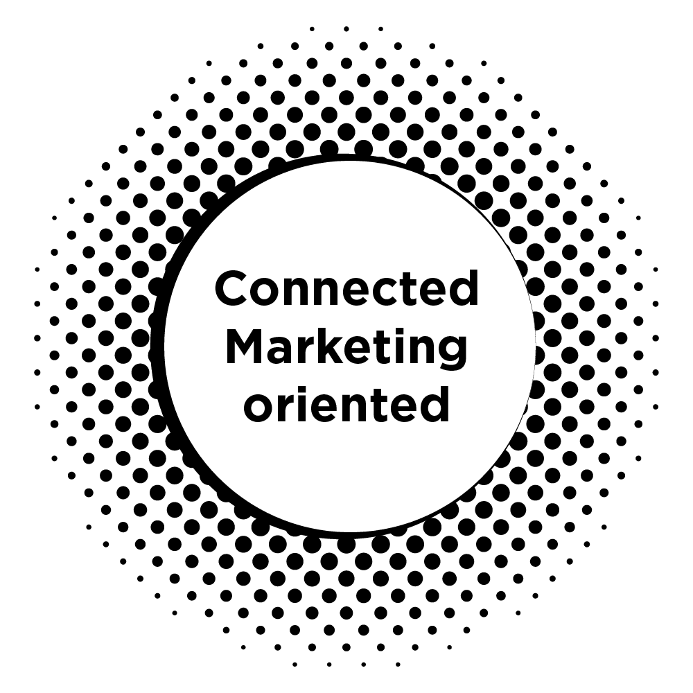 Connected marketing oriented