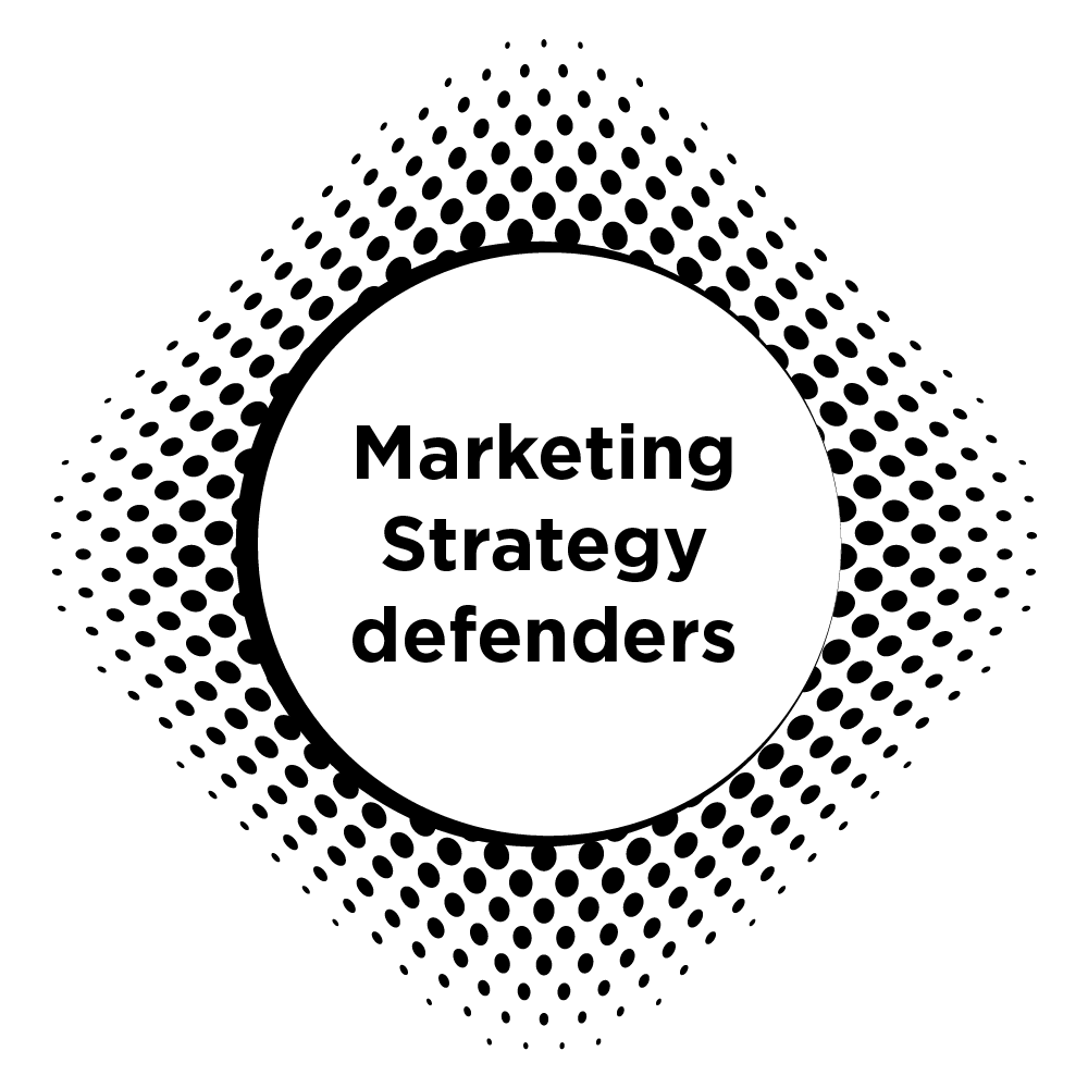 Marketing strategy defenders